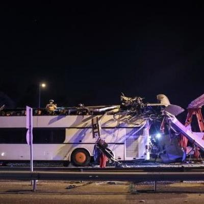 Страшное ДТП в Будапеште: автобус из Украины протаранил ограничитель, почти три десятка человек травмированы (фото)