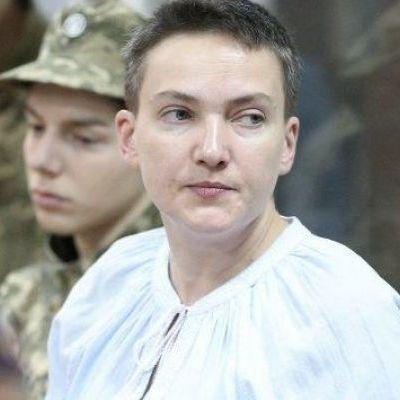 Савченко решила прервать голодовку