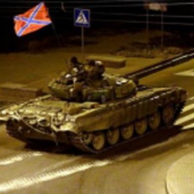 По центру Донецка всю ночь ездила тяжелая техника - соцсети