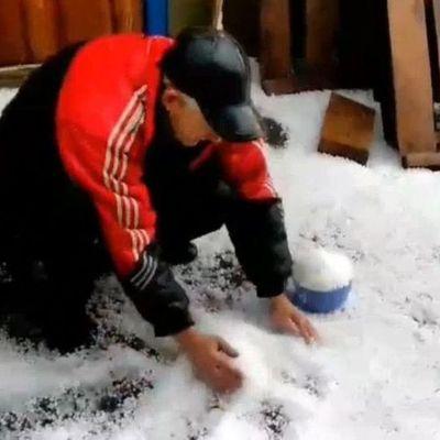 В Виннитчине несколько сел засыпало градом и снегом