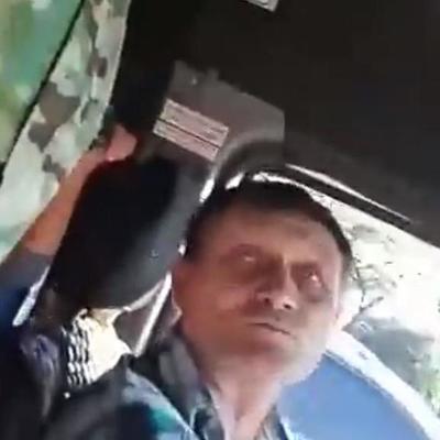 В Запорожье водитель маршрутки отказал АТОшнику в проезде и поплатился