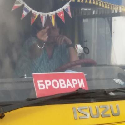 Под Киевом водитель маршрутки оскорбил сироту