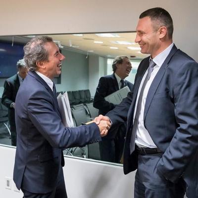 Кличко в Вашингтоне провел встречу с руководством Всемирного банка: обсудили сотрудничество