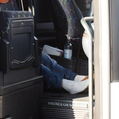 В Киеве водитель автобуса умер за рулем