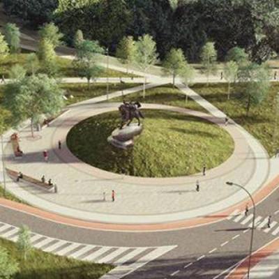 В киевском парке откроют памятник Илье Муромцу