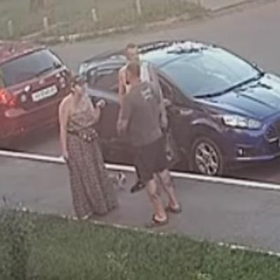 Под Киевом депутат избил женщину (видео)
