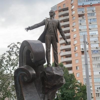 В Киеве открыли сквер имени Муслима Магомаева