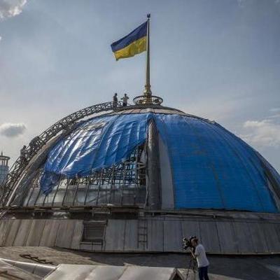 Купол здания Верховной Рады отреставрируют за 7 млн грн