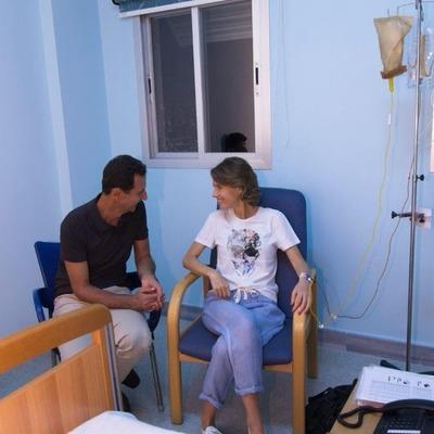 У жены Асада обнаружили рак