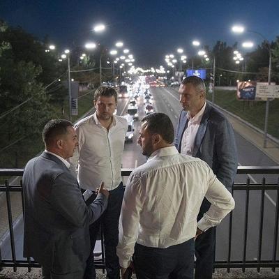 Кличко: Современное LED-освещение сделает киевские улицы более безопасными