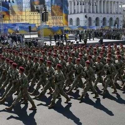 В Киеве проходит парад по случаю Дня Независимости Украины (видео)