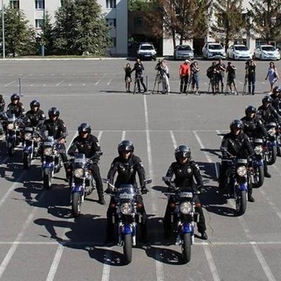 В столице появились патрульные-байкеры (видео)