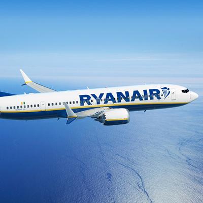 Первый самолет Ryanair прилетел в