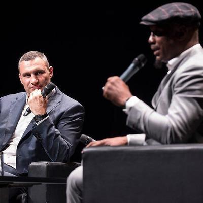 Льюис по приглашению Кличко приедет в Киев для участия в конгрессе WBC