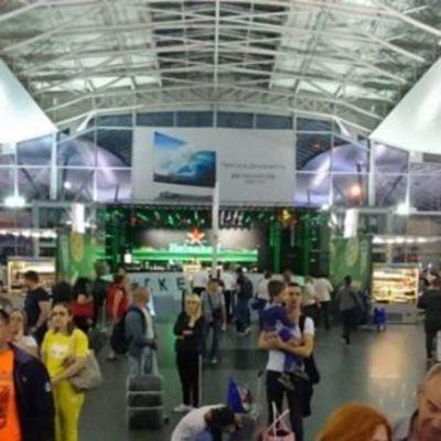 В аэропорту Борисполь на сутки застряли 170 пассажиров (фото)