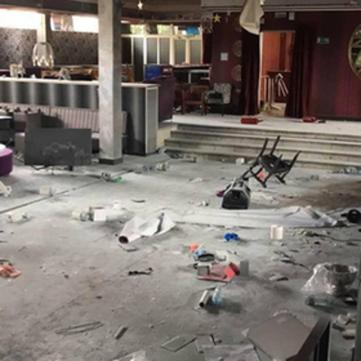 В Крыму малолетние школьники разгромили лопатами ночной клуб
