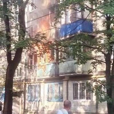 На Виноградаре от взрыва петарды сгорели квартиры