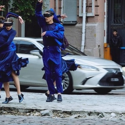 Lexus снял рекламу в Киеве (видео)