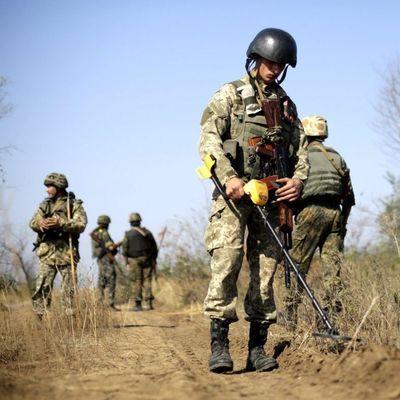 Минобороны опубликовало карту заминированных территорий Донбасса