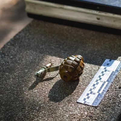 В Днепре задержали мужчину с гранатой (фото)