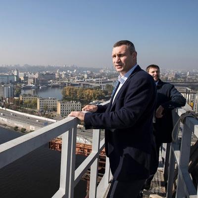 Кличко сообщил, когда откроется автомобильное сообщение через Подольско-Воскресенский мост