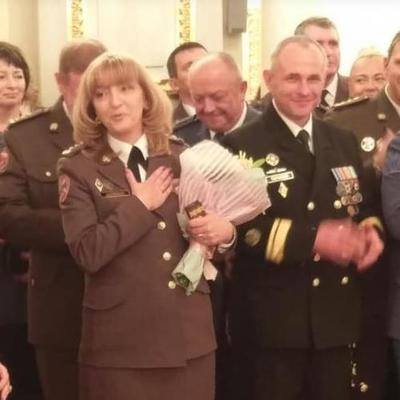 Президент Украины впервые присвоил звание генерала женщине