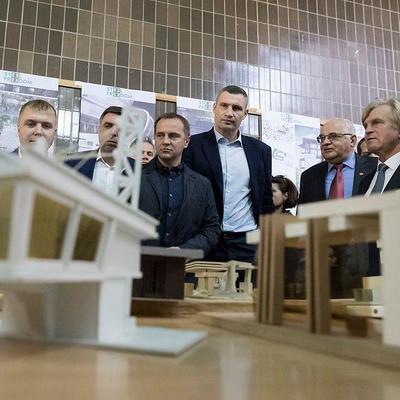 Кличко на встрече с будущими архитекторами и строителями: Городу нужны ваши идеи!