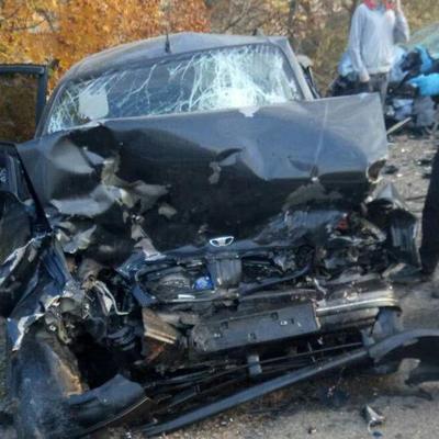 В Одесской области сразу пять автомобилей столкнулись в смертельном ДТП (фото)
