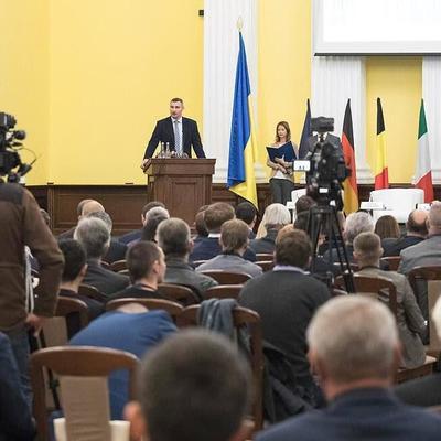 Кличко: Мы работаем над тем, чтобы Украина стала частью европейской транспортной инфраструктуры