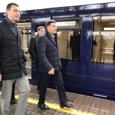 Гройсман сообщил, когда начнет работу скоростной экспресс из Киева в аэропорт
