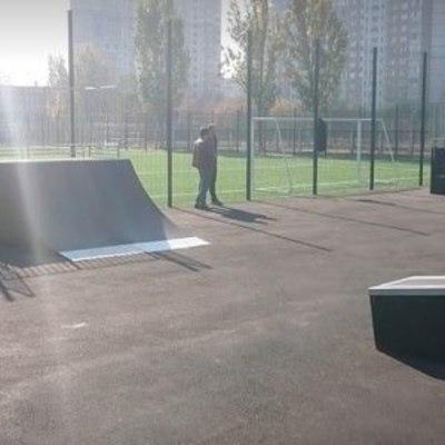 В Киеве появился скейтпарк и роллердром