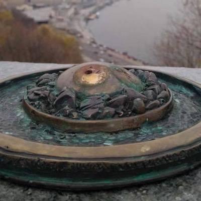 В центре Киева украли скульптуру слона