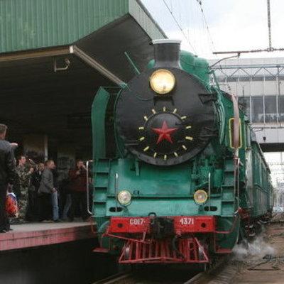 Сегодня в честь Дня железнодорожника в Киеве запустят ретропоезд