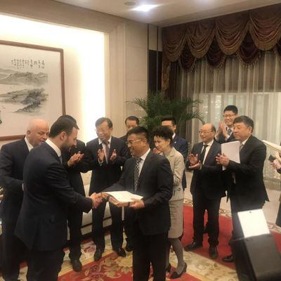 Китайская компания одобрила ТЭО проекта линии метрополитена на Троещину - Давтян