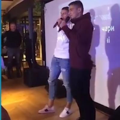 Новички сборной Украины на посвящении спели команде