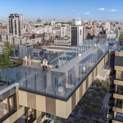Киевский новострой признан одним из лучших мировых архитектурных проектов