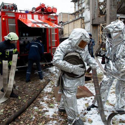 КГГА: Спасатели отработали план гражданской защиты города