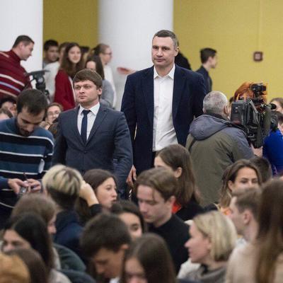 Кличко: с 2019 году киевляне смогут бесплатно учиться английскому, немецкому и французскому