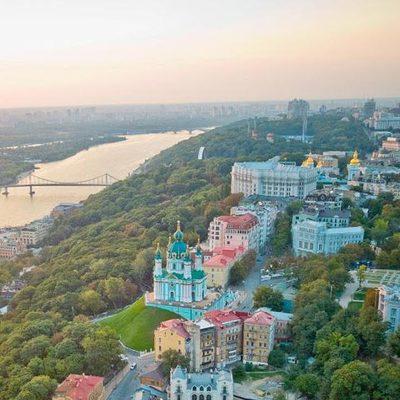Появилась карта шумового загрязнения Киева