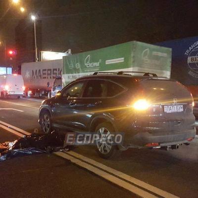 В Киеве машина насмерть сбила вора, который убегал после кражи (фото)