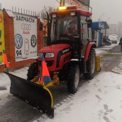 Ликвидировать последствия снегопада в столице будет 352 единицы снегоуборочной техники - КГГА