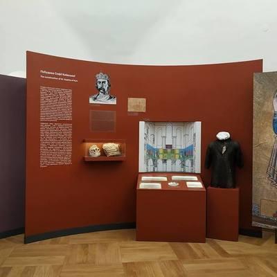 В Софийском соборе открылась выставка по случаю 1000-летия со дня освящения главного храма Руси-Украины