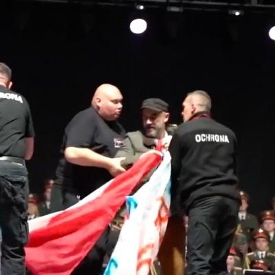 В Польше активисты сорвали концерт ансамбля российской армии