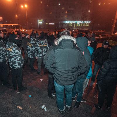 В киевском ТЦ произошел масштабный конфликт с участием полиции