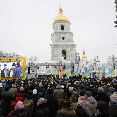 В Киеве подразделения МВД работают в усиленном режиме из-за проведения Объединительного собора - Шкиряк