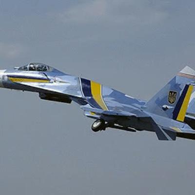 В Житомирской области разбился истребитель Су-27