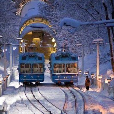 Сегодня резиденция Святого Николая откроется на станции Киевского фуникулера