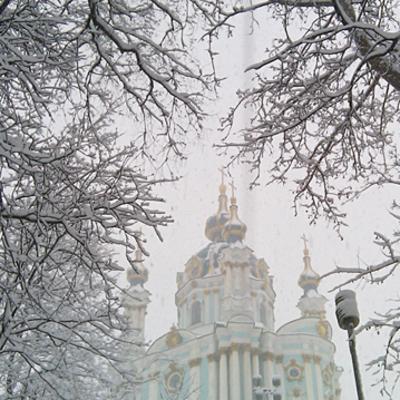 Завтра в Киеве - мокрый снег и дождь