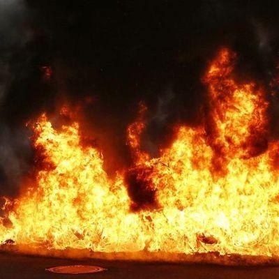 На Ивано-Франковщине горел отель, в котором летом отравились дети (видео)