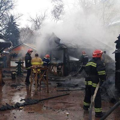 Трагедия на ярмарке во Львове: в сети опубликовали видео момента взрыва (видео)